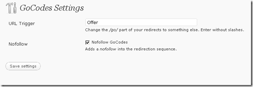 gocodes-wordpress-plugin-settings
