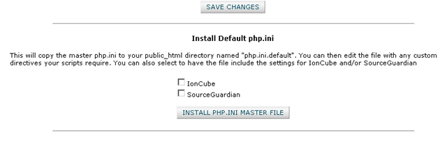how to find php ini