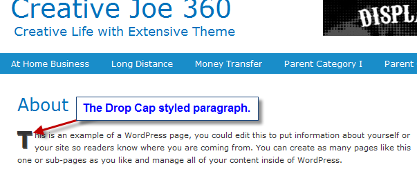 drop cap wordpress thesis Drop caps in wordpress thesis ian mcewan research paper i39ll text you later serevent diskus generic name for once, kim kardashian stepped out in an outfit we didn39t.