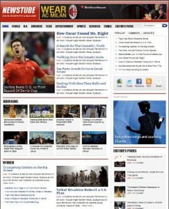 news wordpress theme newstube