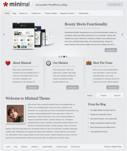 minimal wordpress theme elegantthemes
