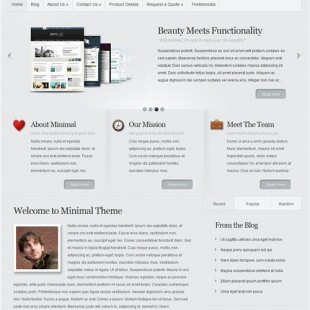 Minimal WordPress Theme | New Business WordPress Theme From Elegant Themes