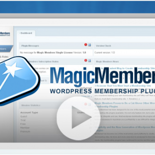 Magic Members WordPress plugin: July 2010 Discount coupon