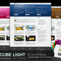 Portfolio And Business WordPress Theme | CubeLight