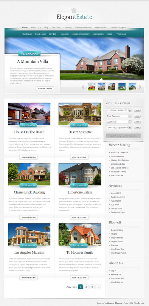 elegant-estate-wordpress-theme