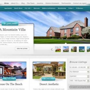 Advanced Real Estate WordPress Theme: ElegantEstate