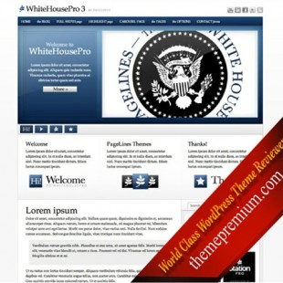 Best WordPress Theme for Politics Website and Campaign: WhiteHousePro