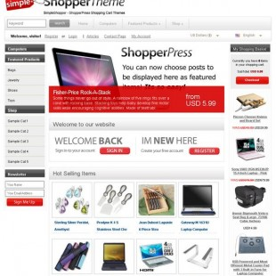 Best ECommerce WordPress Theme | ShopperPress