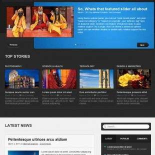 QuickStart | Portfolio & Business WordPress Theme