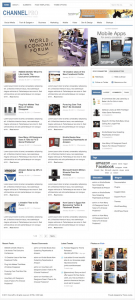 wordpress magazine technology blog theme channelpro