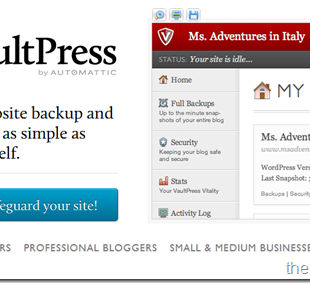 VaultPress WordPress Backup Service is Now Open For All